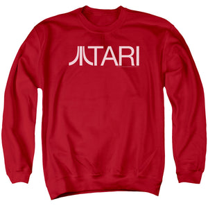 Atari Sweatshirt Text Logo Red Pullover