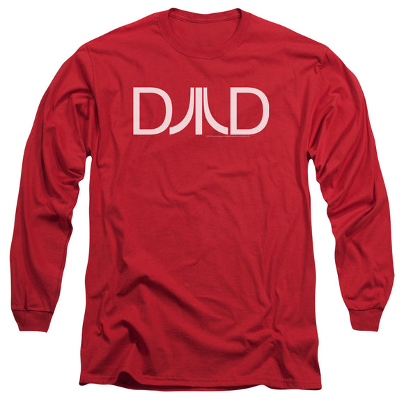 Atari Long Sleeve T-Shirt Dad Logo Red Tee