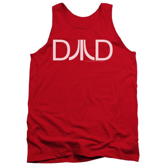 Atari Tanktop Dad Logo Red Tank