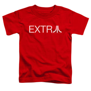 Atari Toddler T-Shirt Extra Logo Red Tee