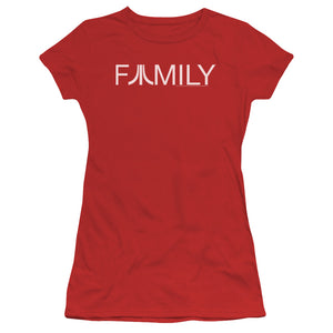 Atari Juniors T-Shirt Family Logo Red Tee