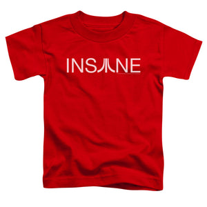 Atari Toddler T-Shirt Insane Logo Red Tee