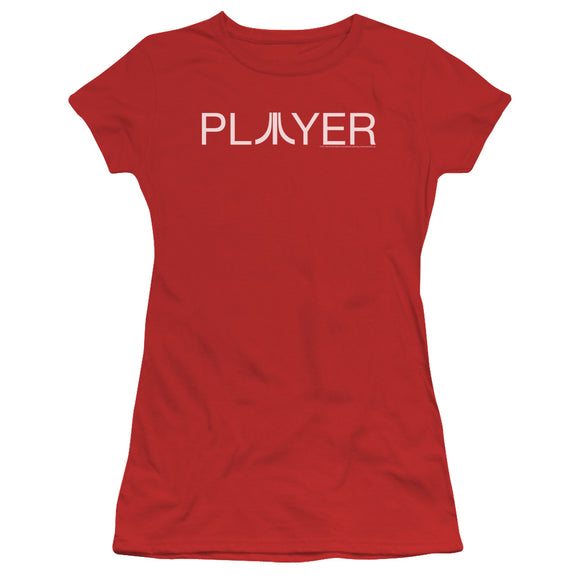 Atari Juniors T-Shirt Player Logo Red Tee