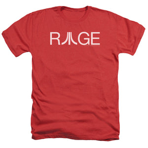 Atari Heather T-Shirt Rage Logo Red Tee