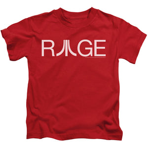 Atari Boys T-Shirt Rage Logo Red Tee