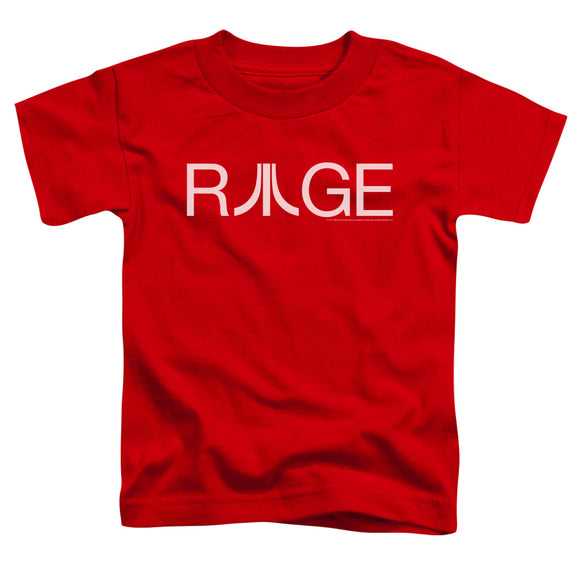 Atari Toddler T-Shirt Rage Logo Red Tee