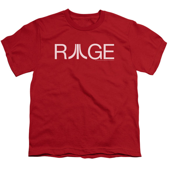 Atari Kids T-Shirt Rage Logo Red Tee