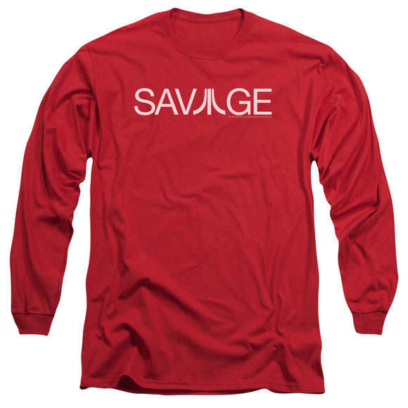 Atari Long Sleeve T-Shirt Savage Logo Red Tee