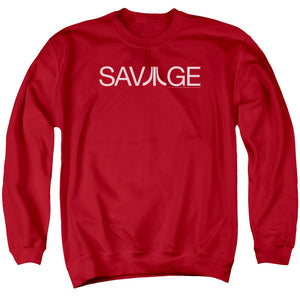 Atari Sweatshirt Savage Logo Red Pullover