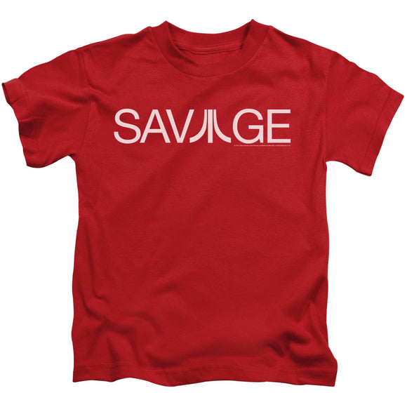 Atari Boys T-Shirt Savage Logo Red Tee