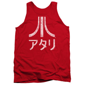 Atari Tanktop Rough Kanji Red Tank