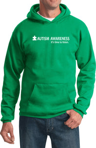 Autism Awareness Time to Listen Hoodie