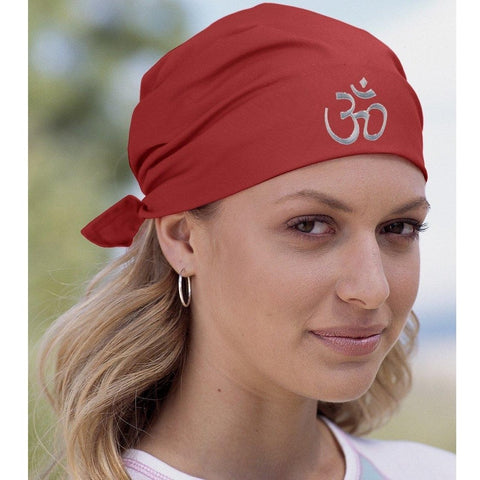 "Yoga ""Hindu Aum"" Solid Bandana - Yoga Clothing for You - 1"