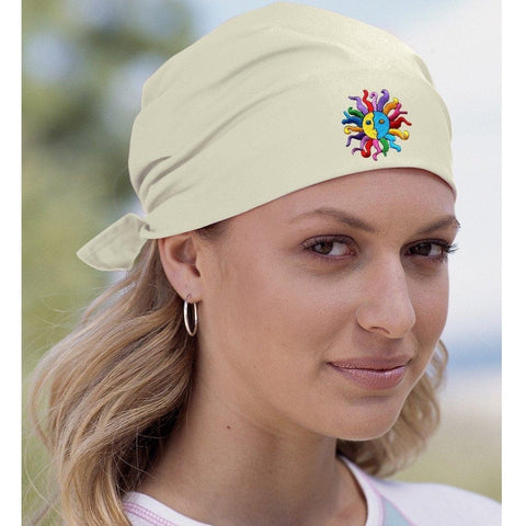 Yoga Clothing for You Yoga Bandana - Hippie Sun Patch