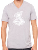 "Mens ""Krishna"" V-neck Tee Shirt"
