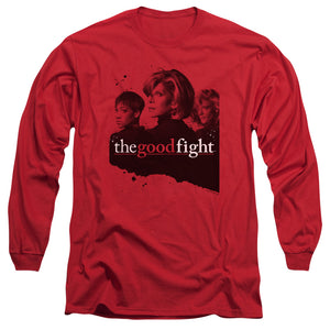 The Good Fight Long Sleeve T-Shirt Cast Red Tee