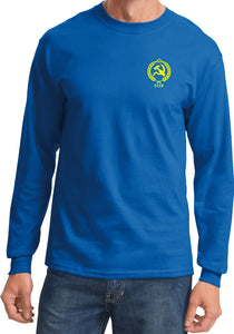 CCCP T-shirt Crest Pocket Print Long Sleeve