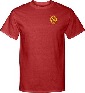 CCCP T-shirt Crest Pocket Print Tall Tee