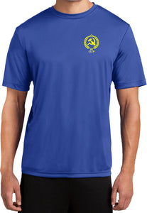 CCCP T-shirt Crest Pocket Print Moisture Wicking Tee