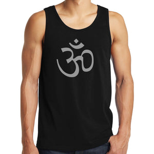 Mens Aum Ohm Symbol Tank Top Shirt - Yoga Clothing for You - 1