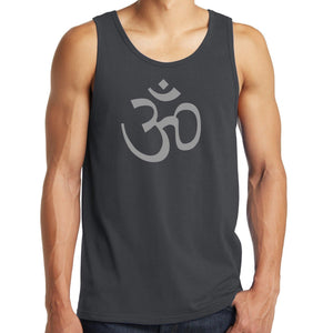 Mens Aum Ohm Symbol Tank Top Shirt - Yoga Clothing for You - 2