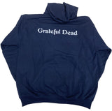Grateful Dead Hoodie Distress Your Face Navy Hoody