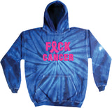 Breast Cancer Hoodie Fxck Cancer Tie Dye Hoody