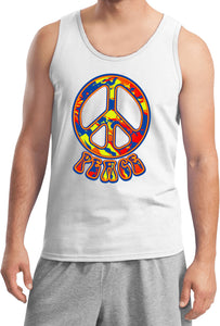 Buy Cool Shirts Funky Peace Sign Tank Top
