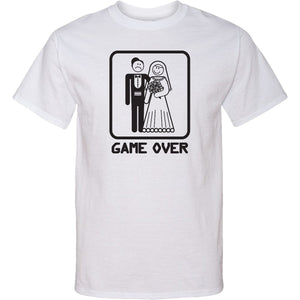 Game Over Tall T-shirt Black Print