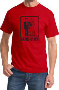 Game Over T-shirt Black Print