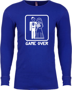 Game Over Thermal Shirt White Print