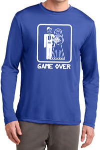 Game Over Competitor Long Sleeve White Print