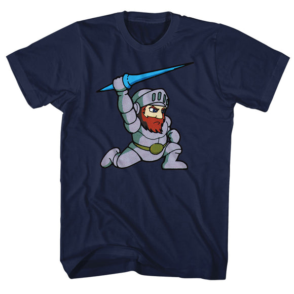 Ghosts 'n Goblins Tall T-Shirt Arthur Navy Tee