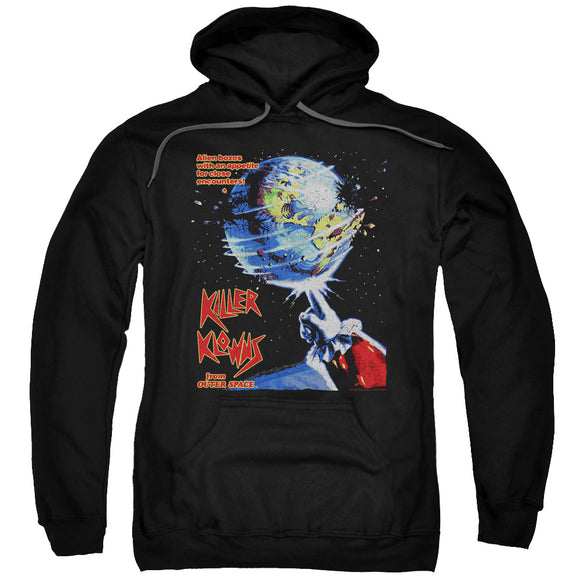 Killer Klowns From Outer Space Hoodie Movie Poster Black Hoody