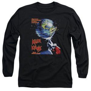 Killer Klowns From Outer Space Long Sleeve T-Shirt Movie Poster Black Tee