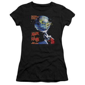 Killer Klowns From Outer Space Juniors T-Shirt Movie Poster Black Premium Tee