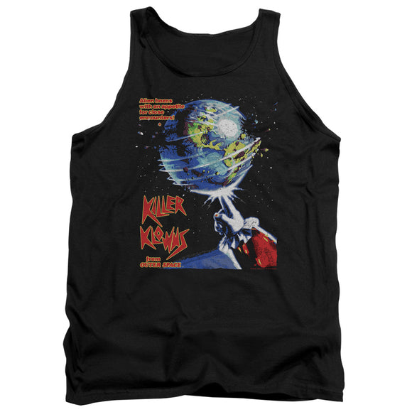 Killer Klowns From Outer Space Tanktop Movie Poster Black Tank