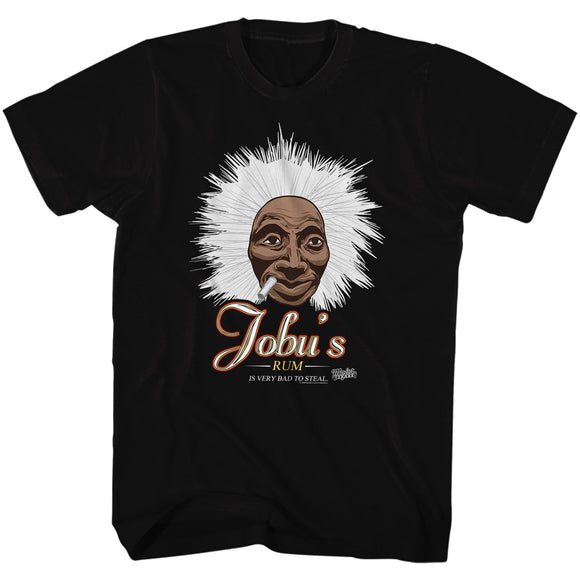 Major League Tall T-Shirt Jobu's Rum Black Tee