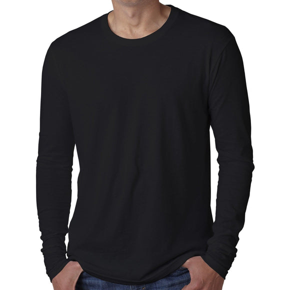 Mens Fitted Long Sleeve Tee Shirt - Yoga Clothing for You - 1