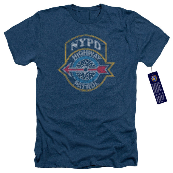 NYPD Charcoal T-Shirt Highway Patrol Navy Tee