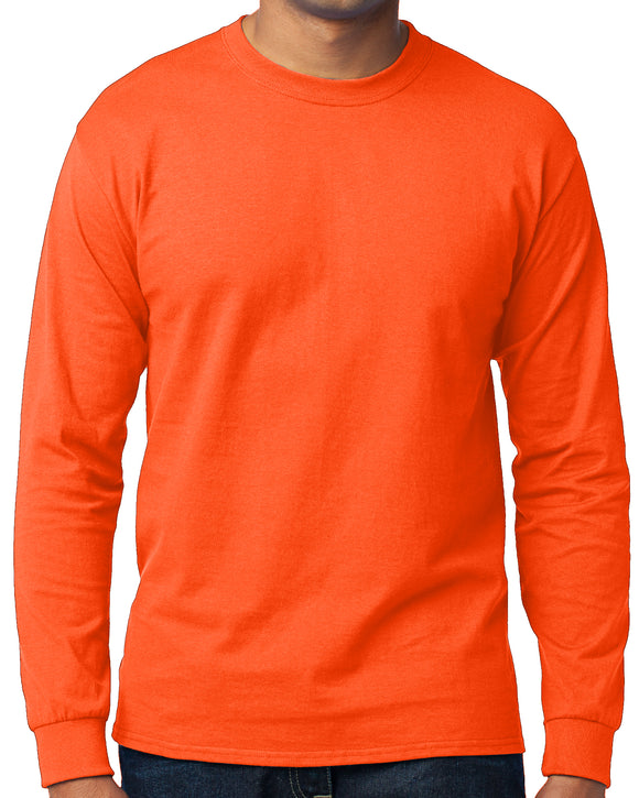 Men's High Visibility Long Sleeve T-shirt