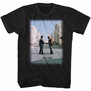 Pink Floyd Tall T-Shirt Wish You Were Here Album Cover Black Tee