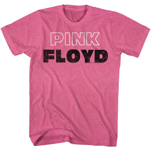 Pink Floyd T-Shirt Pink Heather Tee