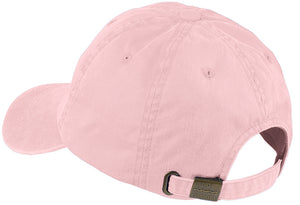 Unisex Breast Cancer Awareness Ribbon Hat - Light Pink