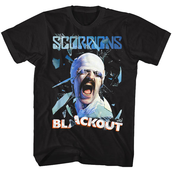 Scorpions T-Shirt Blackout Album Black Tee