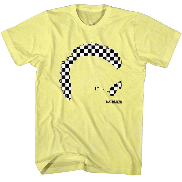 Taxi Driver T-Shirt Mohawk Yellow Heather Tee