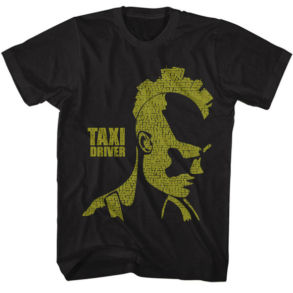 Taxi Driver T-Shirt City Mohawk Black Tee