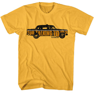Taxi Driver T-Shirt You Talking To Me Ginger Tee