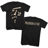 Animal House Tall T-Shirt Pledgemaster Black Tee
