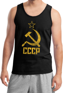 Soviet Union Tank Top Distressed CCCP Tanktop